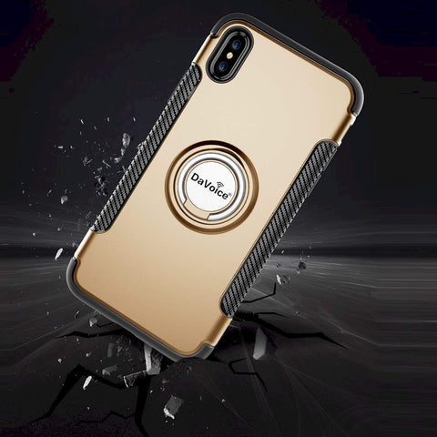 Image of gold iPhone XR ring case