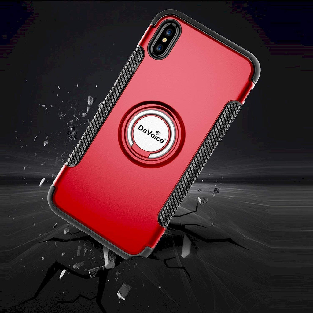 iphone case with ring red
