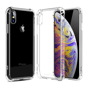 iPhone Xs Clear Case and Screen Protector