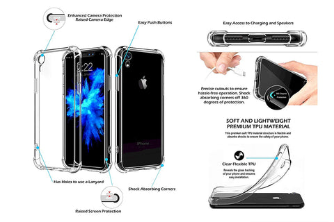 Image of iPhone XR case clear