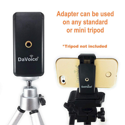 Image of cell phone tripod adapter