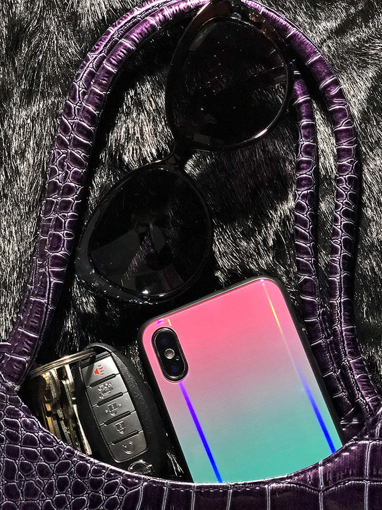 iPhone XS bling case