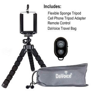 iPhone Tripod, Cell Phone Tripod with Remote