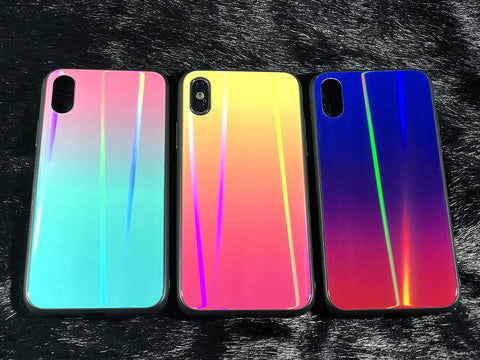 Image of holographic iphone xs cases