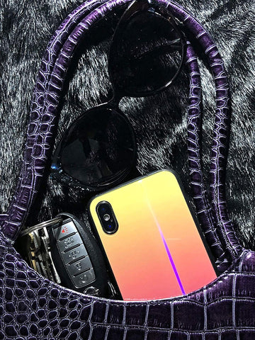 Image of iPhone X case holographic