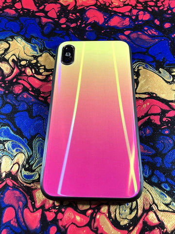 Image of iridescent iPhone XS Max case