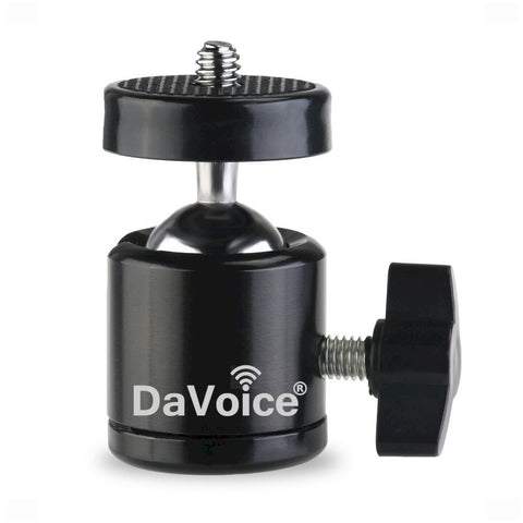 360 Degree Rotating Swivel Mini Tripod Ball Head Camera Mount