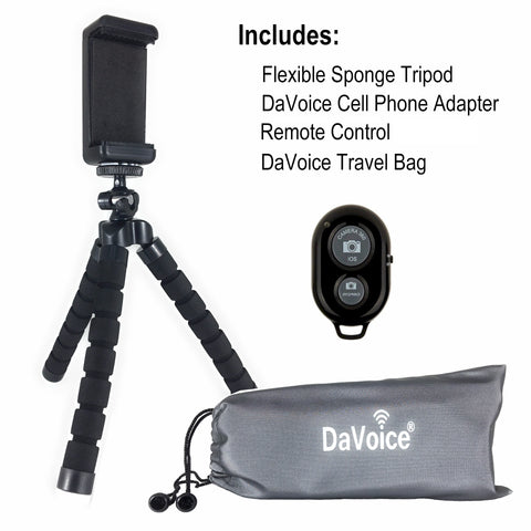 Image of cell phone tripod
