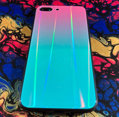 teal iPhone 8 Plus case