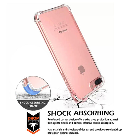 Image of clear iphone 8 plus case
