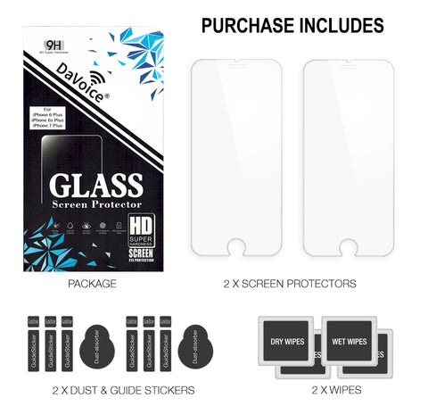 Image of screen protector 7 plus