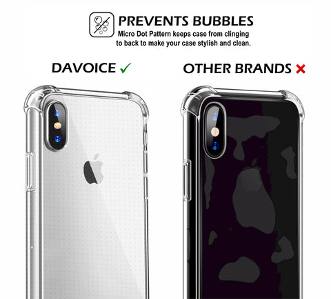 iPhone X Clear Case with Screen Protector