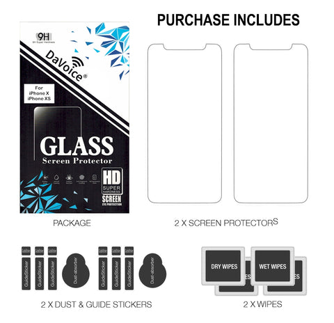 Image of iphone x screen protector glass
