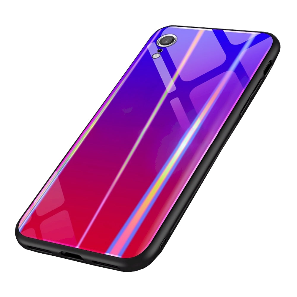 size 40 79cdc 18ed6 iPhone XR Silicone Case iPhone XR Slim Holographic Glass Case