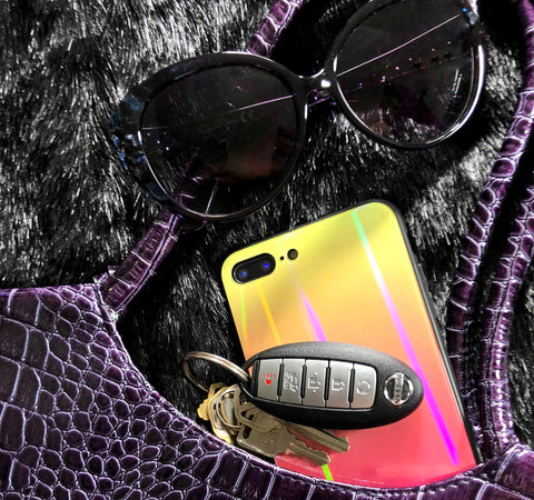Image of holographic rainbow case