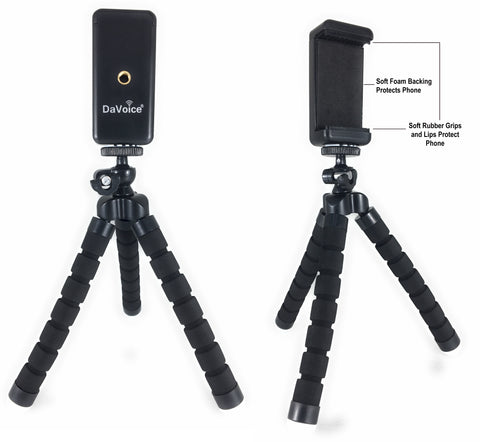 Image of iphone tripod