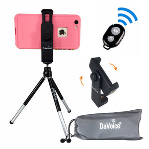 iPhone Stand Tripod with Remote and Carry Bag