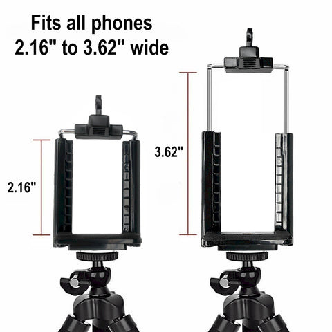 phone holder for tripod