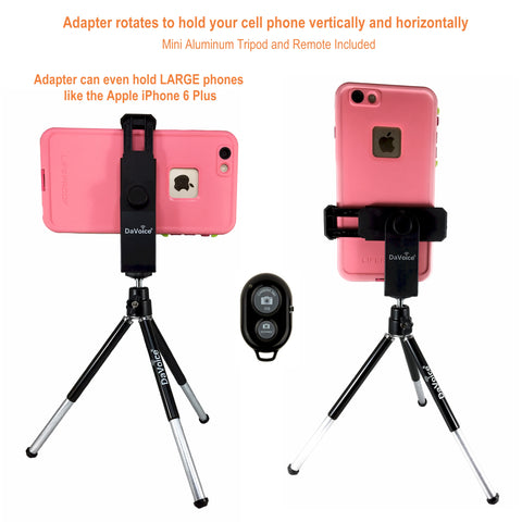 Image of tripod for iphone 8 plus