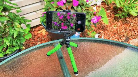 Image of tripod mount for iphone