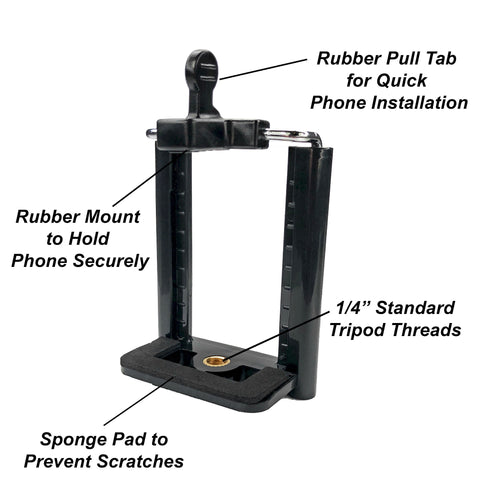 Image of tripod phone mount