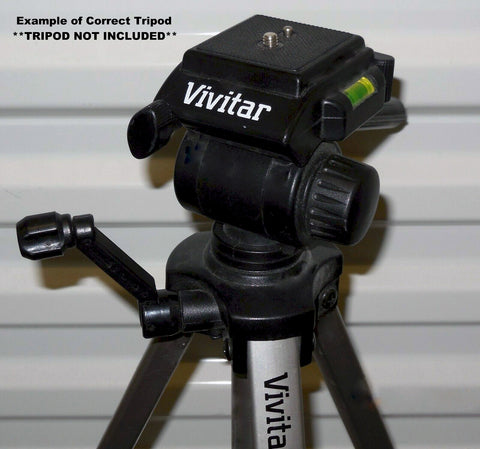 Image of vivitar vpt-120 tripod head