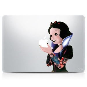 Snow White MacBook Decal - The Lazy Raven