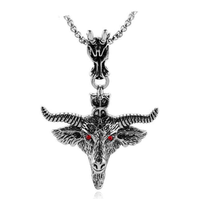 Baphomet Pendant - The Lazy Raven