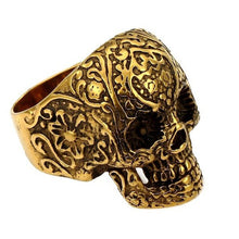 Resin Skull Rings - The Lazy Raven