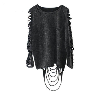 Darkness Falls Blouse - The Lazy Raven