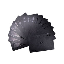 Matte Black Poker Cards - The Lazy Raven
