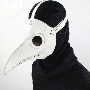 Gothic White Plague Mask