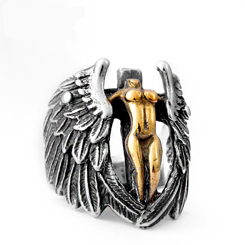 Angel Of Darkness Ring - The Lazy Raven