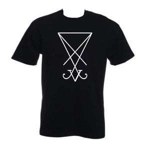 Lucifer Sigil T-Shirt - The Lazy Raven