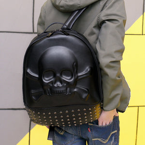 Nightmare Studded Backpack - The Lazy Raven