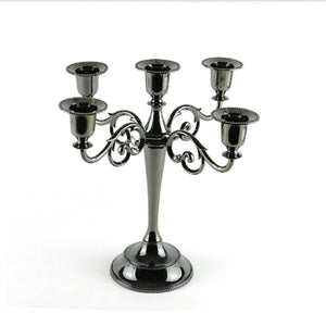 Vintage Style Candle Holder - The Lazy Raven