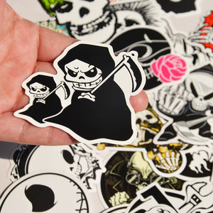 25 pcs Skeleton Stickers - The Lazy Raven