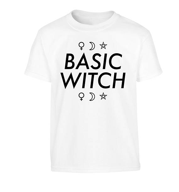 Basic Witch T-shirt - The Lazy Raven