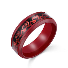 Red Dragon Ring - The Lazy Raven