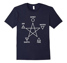 Five Elements T-shirt - The Lazy Raven