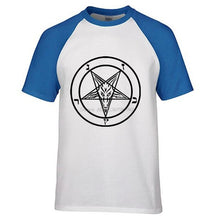 Pentagram Raglan T-shirt - The Lazy Raven