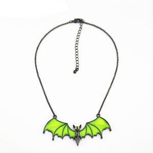 Glowing Bat Necklace