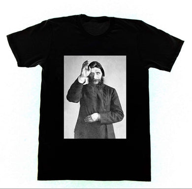 Rasputin The Mad Monk T-shirt - The Lazy Raven