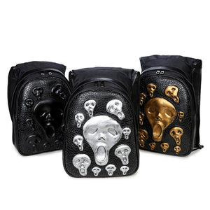 Scream For Me Hooded Backpack - The Lazy Raven