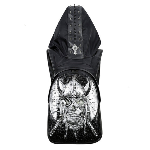 Skull Viking Backpack - The Lazy Raven