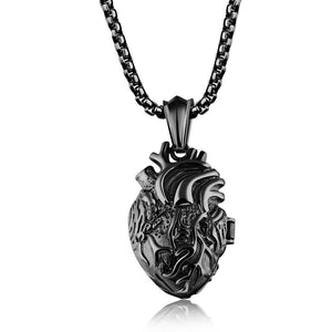 Bleeding Heart Necklace - The Lazy Raven