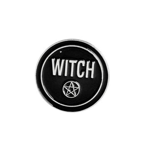 Enamel Witchcraft Pins - The Lazy Raven