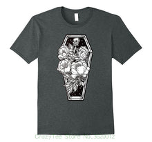 Grave And Roses Occult T-Shirt - The Lazy Raven