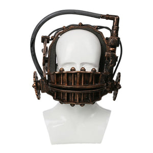 Reverse Bear Trap Bronze Mask - The Lazy Raven