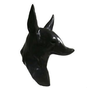 Adult Latex Anubis Mask - The Lazy Raven